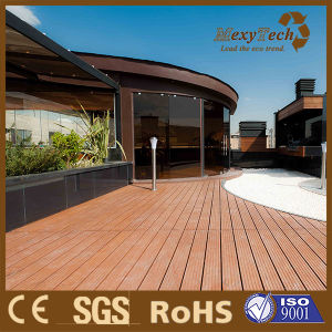 Outdoor Solid Decking with Superior Performance and Real Wood Appearance pictures & photos