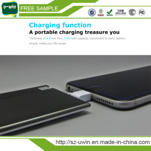 1350mAh Ultra-Thin Combined Charging Power Bank with U Disk pictures & photos