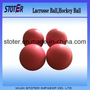 High Quality Embossed Logo Lacrosse Ball pictures & photos