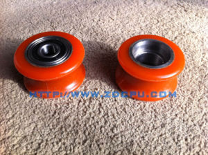 Factory Custom Made NR Rubber Wheels with Aluminum Core pictures & photos
