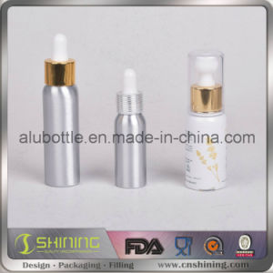 New Design Smoke Oil Aluminium Bottle