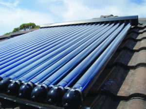 Best Efficiency Heat Pipe Solar Collector for Home Use