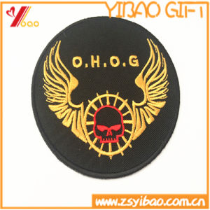 Embroidery Fabric Garment Badge Patch Emblem for Clothing (YB-pH-13) pictures & photos