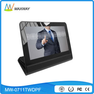 Remote Management 7-Inch LCD Digital Photo Frame Touch Screen pictures & photos