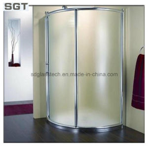 Toughened Colorless Glass From Sgt for Bathroom pictures & photos