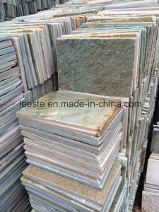 Popular Building Material Yellow Quartzite Tile for Floor and Cladding pictures & photos