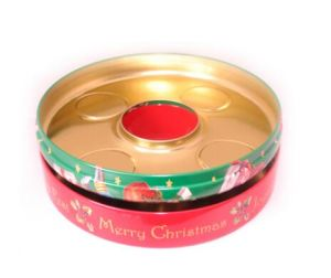 Hot Sale Christmas Gift Tin Jar Aluminum Can pictures & photos