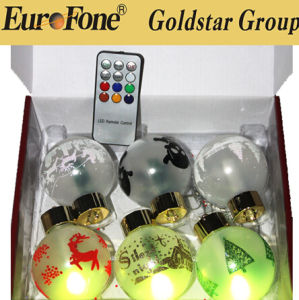 Christmas Ornaments Outdoor LED Christmas Light Ball Changing Color pictures & photos