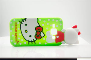 Cute Hello Kitty Cat DOT Silicone Phone Case for Huawei P8lite P9 P9lite A610 V6plus (XSK-009) pictures & photos