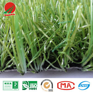 Three-Color Artificial Grass for Landscape, for Recreation