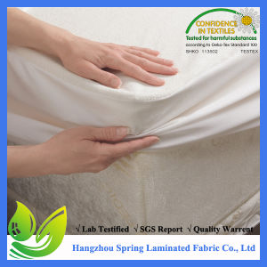 Premium Hypoallergenic 100% Waterproof Mattress Protector - Made in The USA - 10 Year Warranty pictures & photos