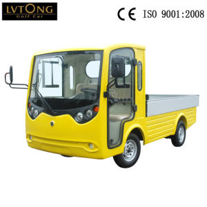 Cheap 2 Seater Electric Utility Vehicle Cargo Car pictures & photos