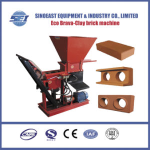 Hydraulic Interlocking Clay Brick Machine Eco Brava Earth Clay Mud Brick Making Machine pictures & photos