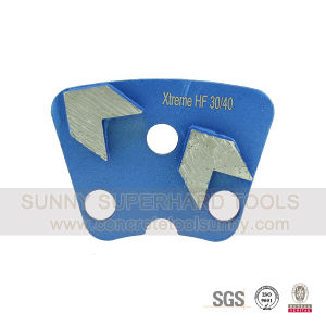 Arrow Segmented Trapezoid Diamond Grinding Pads Shoe Plate Tools pictures & photos