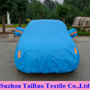Solid Color Car Cover of 100% Polyester High Waterproof Fabric pictures & photos