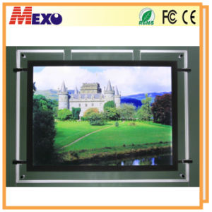 Decorative Display Slim Crystal LED Light Box with Cutout-Design (CSH02-A3L-03) pictures & photos