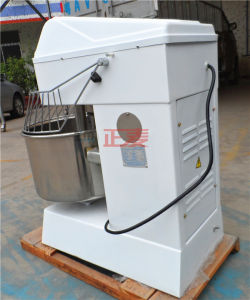 20kg 50L Spiral Dough Stand Food Powered Horizontal Mixer Grinder Machine Factory (ZBH-50L) pictures & photos