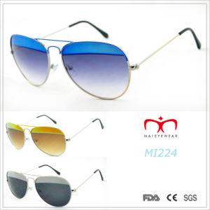 2015 Latest Fashion Design and Color Metal Sunglasses (MI224&MI225) pictures & photos