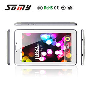 7 Inch Mtk8312 with HD Screen 512MB 4GB Camera Bluetooth GPS Phone Function 3G Tablet PC pictures & photos