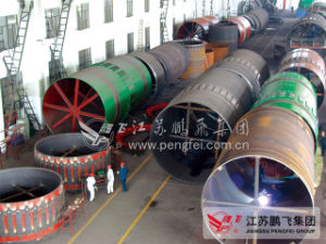 5tph Kaolin Calcined Rotary Kiln pictures & photos