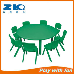 Kids Plastic Moon Indoor Tables pictures & photos