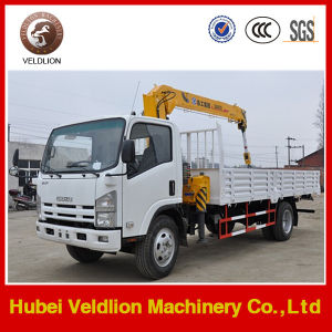 Isuzu 3.2 Tons Truck with Crane pictures & photos