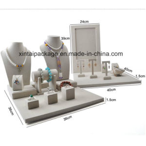 Luxury Linen Display for Jewelry Sets pictures & photos