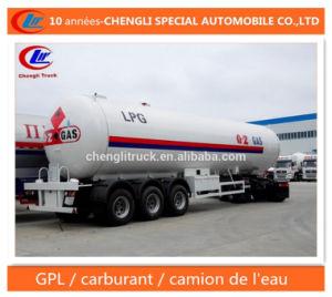 56000L LPG Semi Trailer 56cbm LPG Delivery Trailer pictures & photos