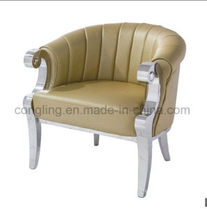 Modern Living Room Sofa with Top Leather for Home LC17 pictures & photos