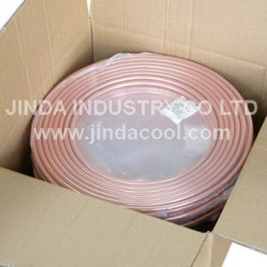 "5/8""O. D. ASTM B280 Soft Temper Pancake Coil Copper Coil pictures & photos"
