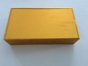 Golden Color Anodizing Aluminum Cover for Electronic Cigarette pictures & photos
