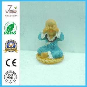 Polyresin Buddha Resin Cute Monk for Home Decoration pictures & photos