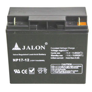 Long Life Deep Cycle UPS Battery for Inverter System (12V17AH)