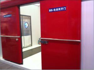 Double Door Sliding Door for Cold Room pictures & photos