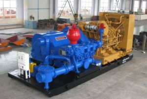 Oil Drilling Mud Pump Package/Pumping Unit/Diesle Engine Drive/Motor Drive Pump Package for Drilling and Workover Use pictures & photos