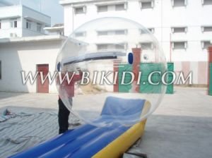Inflatable Water Walking Ball D1003a with Reinforced Soft Handle, Human Hamster Ball, Zorbing Ball pictures & photos