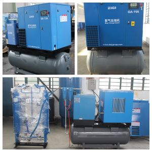 5.5kw Electric Air Screw Compressor pictures & photos