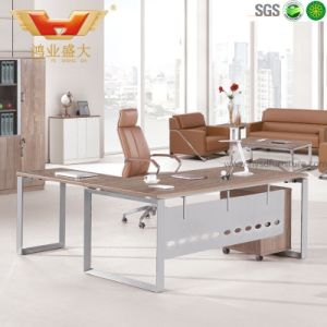 Modern Design and Comfortable Wooden Office Desk Hy-Bt17 pictures & photos