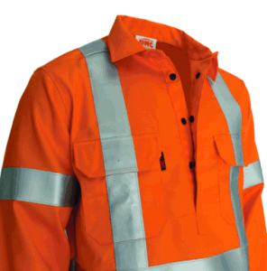 Hi Vis Reflective Safety Fire Retardant Cotton Drill Work Jacket pictures & photos