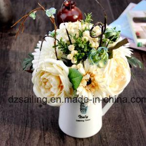 Gerbera & Rose Combination Bouquet Artificail Flower (SF15471)
