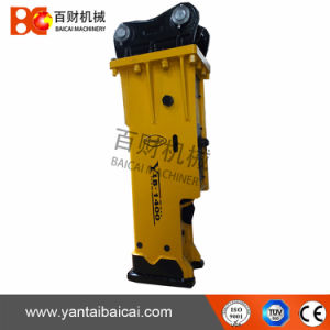 Silent Type Hydraulic Excavator Hammer with Chisel 155mm pictures & photos
