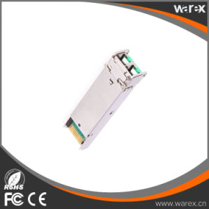 Cisco GLC-EZX-SM= Compatible 1.25g ZX 1550nm DFB+APD SFP Cisco Compatible Transceiver 120km DDM Function pictures & photos