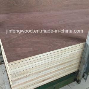 18mm Walnut Natural Veneer Blockboard pictures & photos