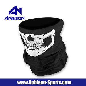 Bandana Ghost Reflective Half Face Mask pictures & photos