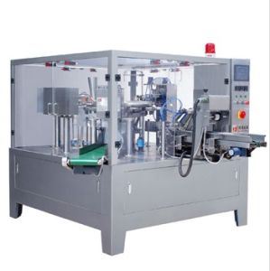 Stand up Zipper Bag Rotary Packing Machine pictures & photos