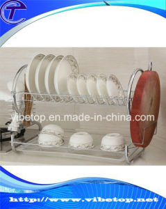 Sale Price Durable Stainless Steel Kitchen Plate Rack pictures & photos