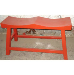 Antique Wooden 2 Seat Stool Lws041 pictures & photos