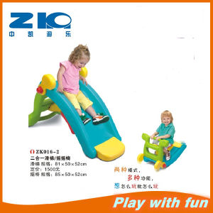 Plastic Mini Slide Plastic Toy Rocking Horse on Sell pictures & photos