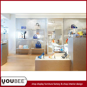 Bespoke Display Stands for Ladies′ Handbag Shop Interior Design From Factory pictures & photos