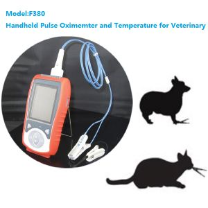 Veterinary Pulse Oximeter and Temperature Measure for Handheld Type (F380) pictures & photos